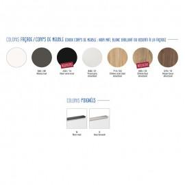 Collection DELPHA - Meuble Ultra Cadra 80